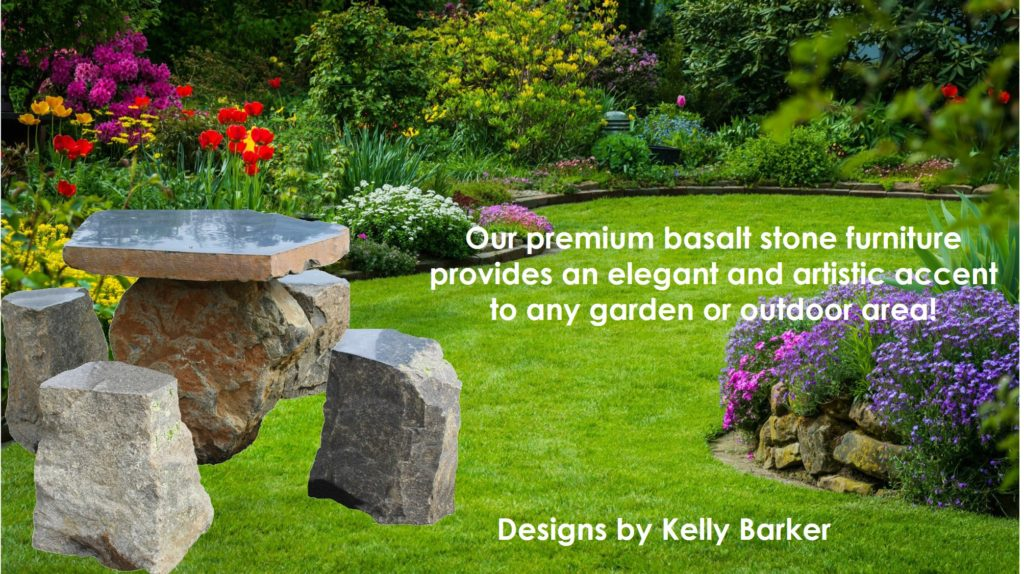 Column Basalt Tables, Stools, Benches And Fire Pit Tables Are Available For  Your Patio And Garden. This Outside Furniture Adds Style And Practicality  In A ...